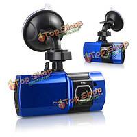2.7-дюймов ЖК-дисплей HD полный 1080p Автомобильный видеорегистратор камера черточки видеорекордер г-датчик ночного видения