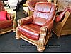 Классическое кожаное кресло - CEZAR II (105 см), фото 2