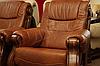 Классическое кожаное кресло - CEZAR II (105 см), фото 4