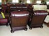 Классическое кожаное кресло - CEZAR II (105 см), фото 5