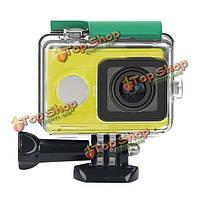 Водонепроницаемый чехол Дайвинг 40М Резервное копирование чехол для Xiaomi Yi спорта камеры