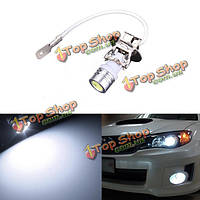 Н3 белый cob LED автомобильные тумана DRL фары головного света Лампа