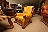 Классическое кожаное кресло - CEZAR III (105 см), фото 2