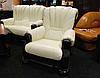 Классическое кожаное кресло - CEZAR III (105 см), фото 3