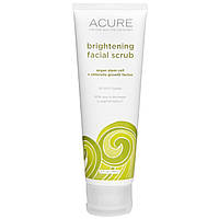 Очищающий скраб для лица Acure Organics 118мл