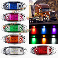 12v водонепроницаемый боковые габаритные огни 6 оформления LED лампа накаливания