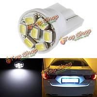 T10 168 194 7 LED 1206 лицензия SMD DC 12V автомобиль пластины сторона клина электрическая лампочка