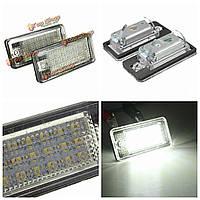 18 LED номерной знак света лампа для Audi A3 A4 a6 a8 b6 b7 S3 q7 rs4 rs6