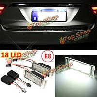 2x безошибочной 18 LED номер лицензии SMD пластина свет лампы для Chevy Camaro Cruze
