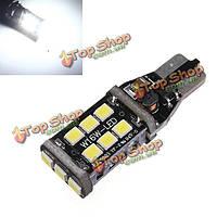Ксенон белый t15/Т10 15Вт LED автомобильные резервный обратный тормоз лампы