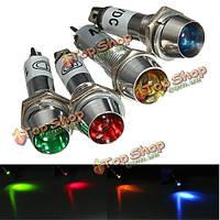 8мм LED предупреждение приборной панели индикатор сигнала лампа 12v свет