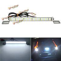 85x1.6см 12v 30 SMD LED белый свет номерного знака автомобиля номер резервной полосы лампы освещения