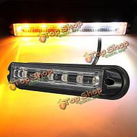 6 LED Автомобильный прицеп лодка аварийное освещение бар опасности мигает стробоскоп сигнальная лампа