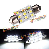38мм 9 SMD LED с 1w ксенон белый интерьер свет номерного знака гирлянда лампа