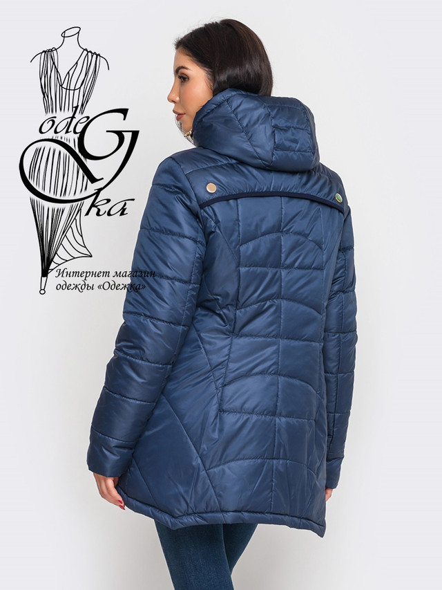 Фото-1  Женской зимней куртки парки Лада-2