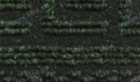 """Грязезащитная дорожка для прихожей на резиновой основе """"Версаче"""", цвет зеленый"""