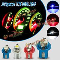 10X t5 b8.5d калибровать LED приборной панели автомобиля боковые внутренние тире огни ламп контрольная лампа