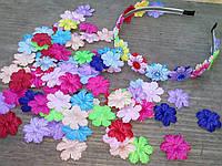 Заготовки цветочки 2,7 см (микс) 50 шт