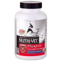 Nutri-Vet Связки и Суставы 3 уровень Адвансид (Advanced) глюкозамин хондроитин для собак