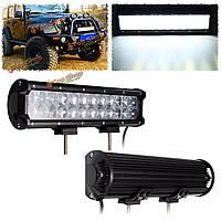 11-дюймов 72W 24 LED пятно прожектор комбинированный рабочий свет бар для квадроциклов сув джипа грузовик Offroad