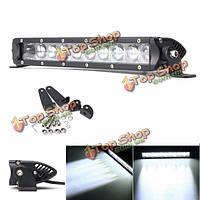 12шт 50Вт комбо LED рабочий свет бар лампа для Offroad вождения лампы автомобиля внедорожник лодка 4wd грузовик