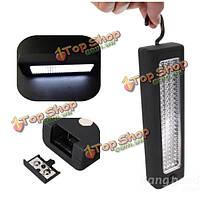 Портативный 72 LED крючок висит аварийного освещения гаража напольный светильник