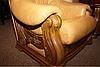 Классическое мягкое кресло в коже CHEVERNY (97см), фото 8