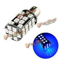 1157 bay15d 40SMD 5050 LED синяя автомобильная лампочка стоп-сигнала поворота хвоста