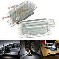 Пара LED подменные багаж для ног дверей фары для Mercedes-Benz W204 W216 CANbus
