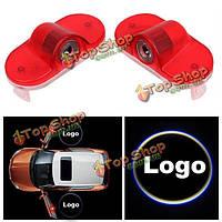 Двери автомобиля фары приветствовать свет логотип лампы Лазерные проекции LED для гольфа Туран Bora кэдди жука