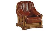 Новое кожаное кресло FRYDERYK II (90 см)