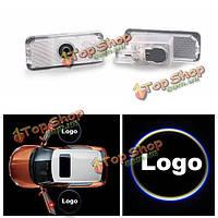 LED Двери автомобиля логотип призрак тень света лазерный проектор лампа для Peugeot 508 408 308 4008 3008