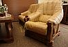 Новое кожаное кресло FRYDERYK II (90 см), фото 3