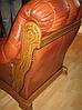 Новое кожаное кресло FRYDERYK II (90 см), фото 4