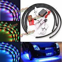 7 цвет LED раздеть автомобиль под тлеющего днищ комплект света система неоновой