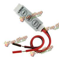 Мини контроллер для RGB Сид SMD 5050/3528 LED светодиодные полосы 12V постоянного тока анод