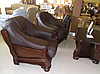 Мягкое кожаное кресло LORD (95 см), фото 4