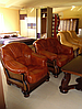 Мягкое кожаное кресло LORD (95 см), фото 5