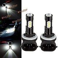 2шт 881 889 50Вт 1000lm 6000k LED белый свет лампочки тумана автомобиля вождения DRL лампы