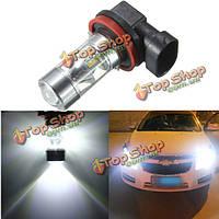 H8 h11 12 SMD 2835 LED 60Вт автомобиль туман вождения свет лампочки