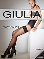 Чулки женские с самоудерживающимся кружевом  EMOTION 20 от тм Giulia