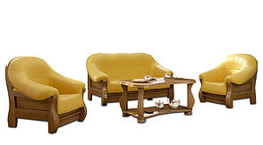 Стильное кресло MUSZELKA (100 см), фото 2