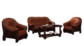 Стильное кресло MUSZELKA (100 см), фото 3