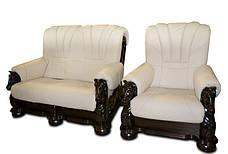 Крісло з різьбленням Mustang, фото 3