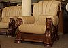 Кресло с резьбой MUSTANG (100 см), фото 5