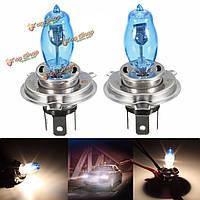 2шт h4 90Вт 6000k 2000LM 12v LED белый автомобиль лампы замена лампочки лампы