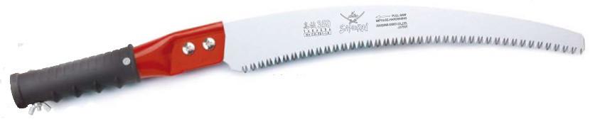 Пила с изогнутым полотном, с трубчатой ручкой и креплением для удлинителя (L=330мм/4мм)