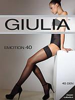 Чулки женские с самоудерживающимся кружевом EMOTION 40 от тм Giulia