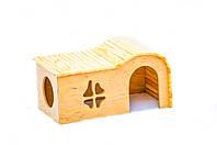ТМ Амигос Домик для кроликов Макси 2 с выходом (фигурный)