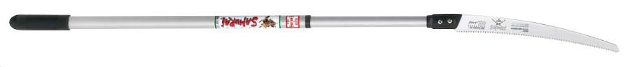 Алюминиевая телескопическая ручка (L=1 080-1 840 мм) c изогнутой  пилой (GC-331-LH)